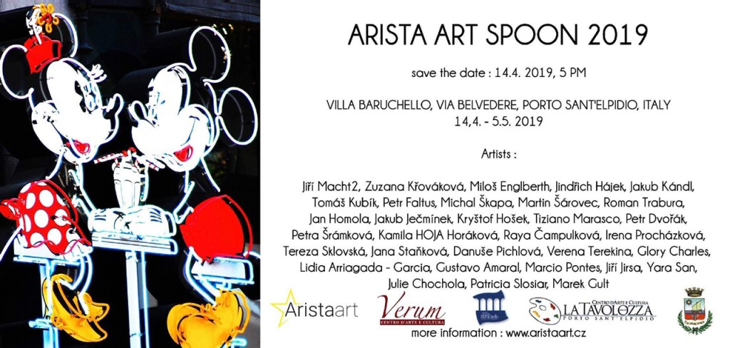 ARISTA ART SPOON 2019 - MICKEY - pozvánka na vernisáž