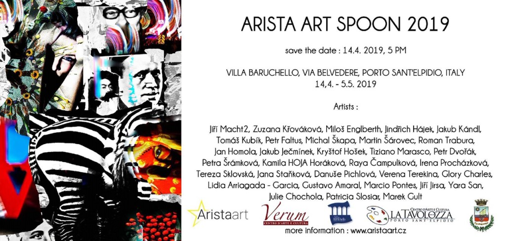 ARISTA ART SPOON 2019 - WORLDS - pozvánka na vernisáž