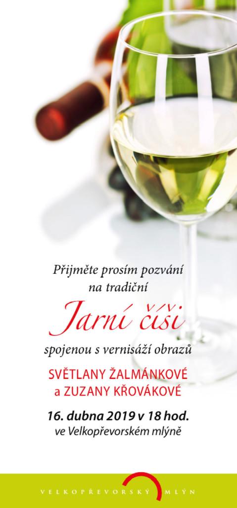 Jarní číše 2019 - pozvánka na vernisáž - str.č. 1