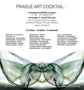 PRAGUE ART COCKTAIL II. - pozvánka na vernisáž