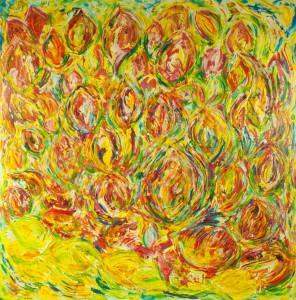 Růže na citrńech